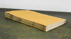 【明代珍本】明刻本【新语】旧装二卷二册一套全,西汉名家陆贾的一部儒道合一的杰出著作。所用纸张有很多的纤维丝麻所制,外漏很多长长的纤维此书坊间罕见,存世较少,备受藏家珍视。