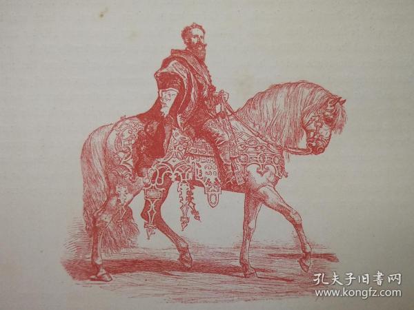 1890年木版画,艺术家肖像《1879年维也纳音乐节上的马卡特makart im wiener festzuge von 1879》尺寸22.7*30.7厘米,背面有字--汉斯·马卡特(Hans Makart1840-1884)是19世纪奥地利学术史的画家,设计师和装潢设计师。他以对古斯塔夫·克里姆特(Gustav Klimt)和其他奥地利艺术家的影响力而闻名