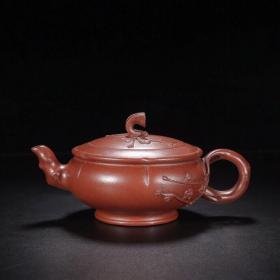 旧藏梅香紫砂壶