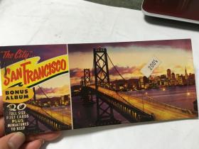 英文原版 旧金山 明信片  内柜1 1层