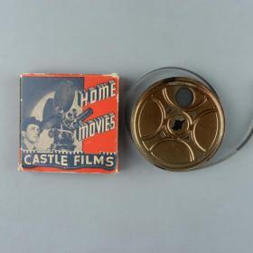1939年 卡斯特尔公司制作《世界新闻》16mm电影胶片一件(此为《世界新闻》新闻短片集锦的16mm拷贝,含日军在天津租界制造危机、封锁租界、天津水灾等内容;此为记录日军侵华罪证的珍贵影像资料!可播放)HXTX383190