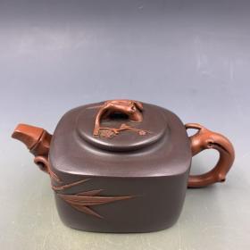 精品紫砂壶,材质:紫砂,容量:约200cc左右