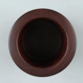 印度小叶紫檀整雕素面笔筒 一件(高11.1、径8.7cm)HXTX226210