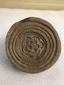 民国木雕花印模1个-2161821