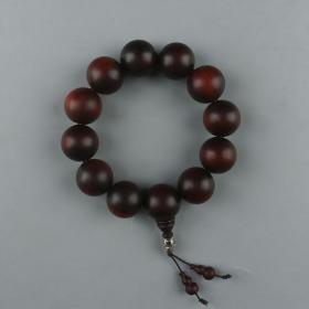 红木酸枝手串  一件(单珠直径约2cm)HXTX223875