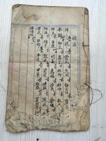 中医手抄,有传方人传方,秘验方,有符咒治病。三十多个筒子页六十多面