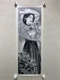 岳冬,出版原作水墨人物