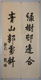 【龙瑞】师从李可染 中国美术家协会中国画艺术委员会主任 中国国际书画艺术研究会会长    书法