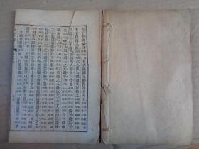 线装书《古文观止》清,1册(卷3---4),品如图。