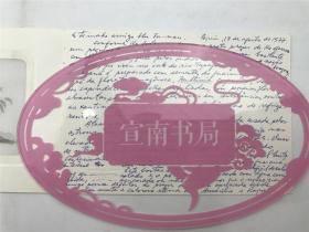 楚图南旧藏:致楚图南英文贺卡一通(如图自鉴)【200109B 21】