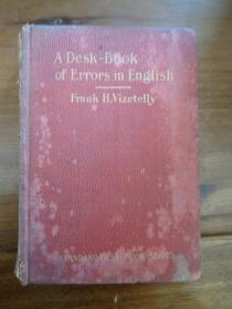 民国外文精装本,一厚册全,32开,厚3cm,品好如图。