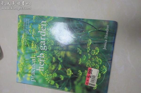 英文版書-----有關香料的植物書----全彩圖版,16開