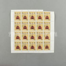 80-90年代 中国古代艺术、文学题材新票一组:T135八分邮票24方连一张、T131八分邮票十方连一张、T126八分、十分各十方连三张、1998-18一百五十分邮票二十方连一张 HXTX309611