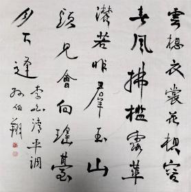 中国书协理事、天津市书协副主席【孙伯翔】书法