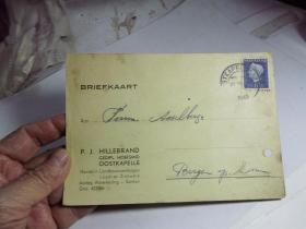 1949年的外国明信片