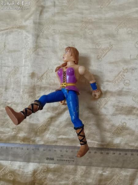 【同批次中拍按實收取運費】硬塑料玩具,四肢可活動