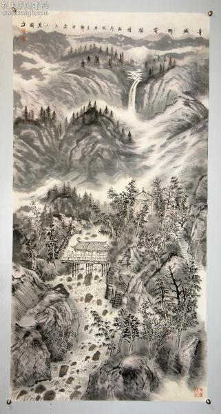 【曾先国】山东青州人 一级美术师 现任青岛画院院长 山东省美协副主席 山水