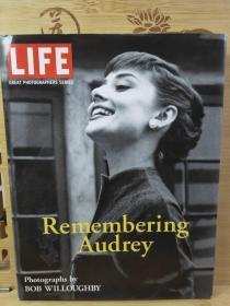 Remembering  Audrey 回憶 奧德麗赫本  硬面精裝本