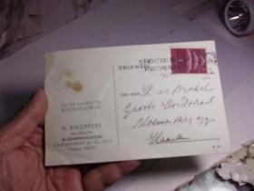 1940年的外国明信片