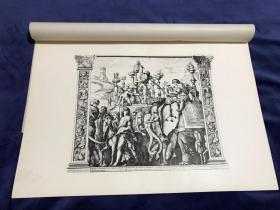 1876年感光制版铜版画《凯撒的胜利》—意大利文艺复兴时期帕多瓦派画家安德烈亚·曼特尼亚(Andrea Mantegna,1431-1506年)作品 45.2*31.4厘米