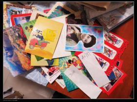 八十年代至今明信片70多张