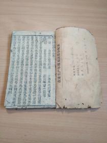 少見的清代木刻寶卷《新刻輪回寶卷》一冊全,最后缺一二頁。下拍請先看圖。