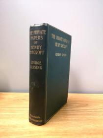 1903 The Private Papers of Henry Ryecroft 乔治吉辛《四季随笔》,珍贵的初版三印,感人至深的散文集,英语散文的明珠
