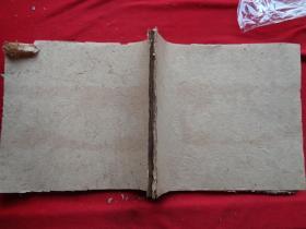 民国红格特大空白本《万茂森》民国,1厚册,筒子页140面,长24cm27cm,品好如图。
