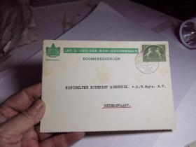 1946年的外国明信片
