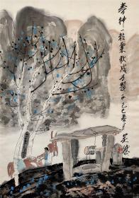 中国版画家协会理事,天津美术家协会副主席【吴燃】作品